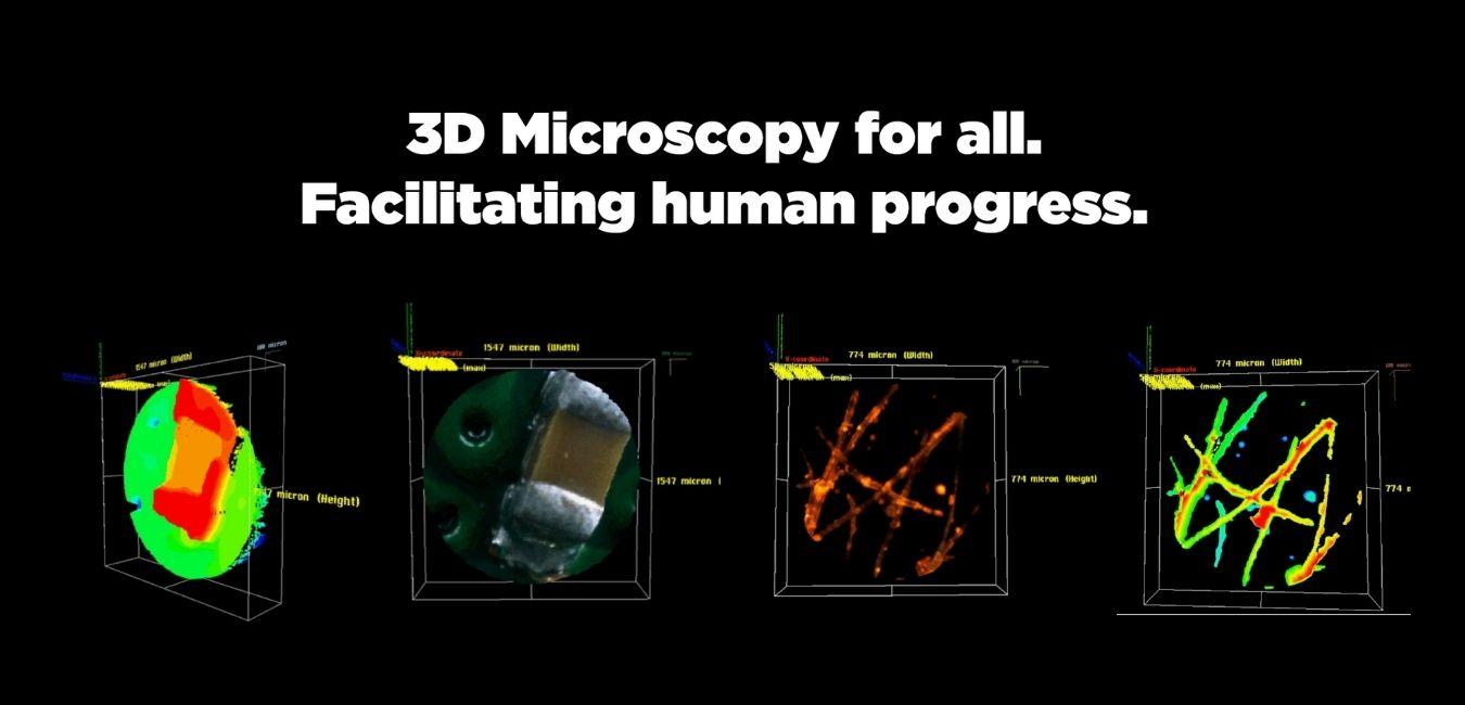 3D microscopy for all